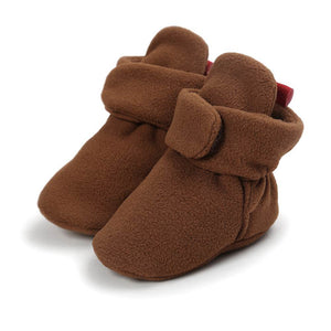 Chaussons bébé  TOP CONFORT - marron