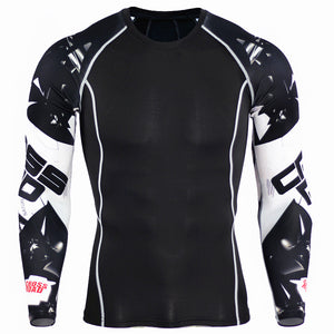 LONG SLEEVE COOL DRY COMPRESSION TOP
