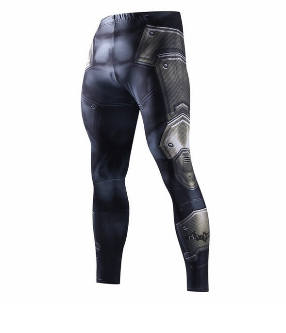 COMPRESSION PANTS - METAL BLACK