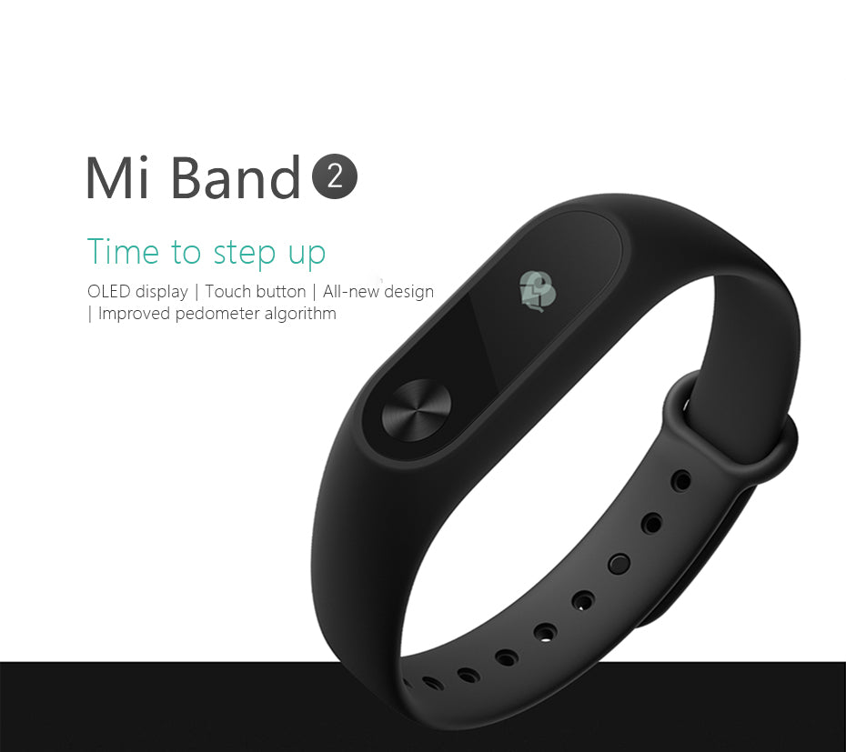 Xiaomi MI Band 2 - Smart Heart Rate Monitor, Sleep and Fitness Tracker