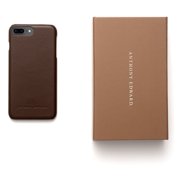 IPHONE 7/8 BROWN CASE (2022569541681)