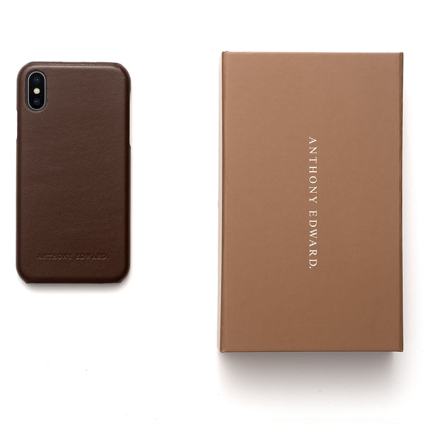 IPHONE X/XS BROWN CASE