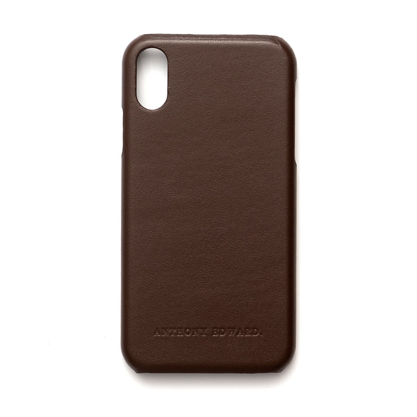 IPHONE XR BROWN CASE (2022575570993)