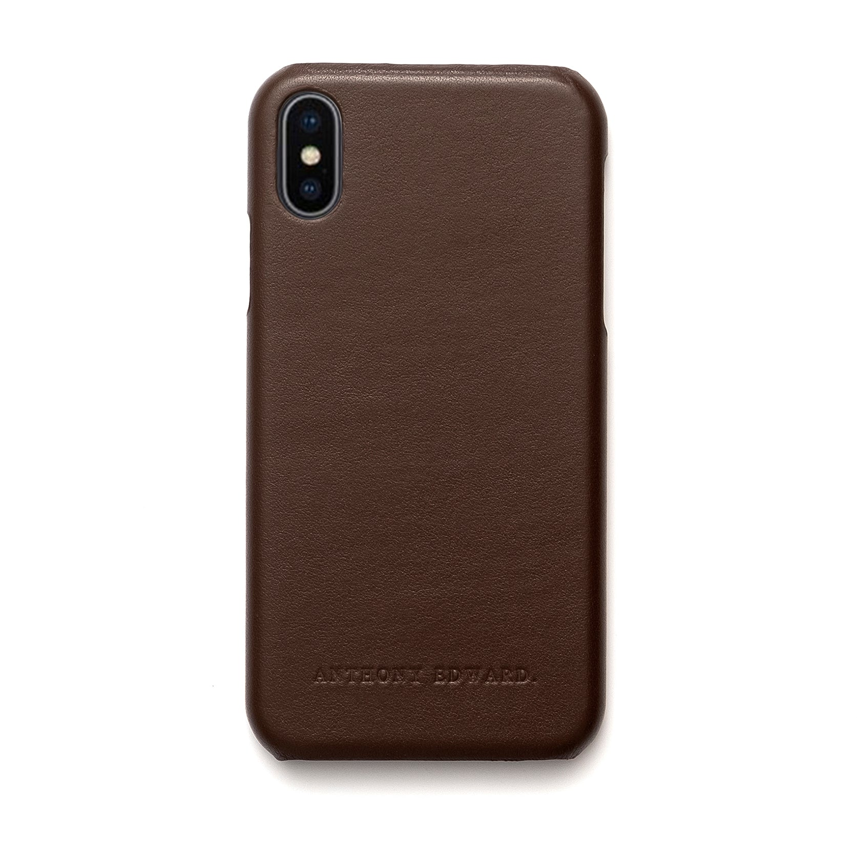 IPHONE XS MAX BROWN CASE