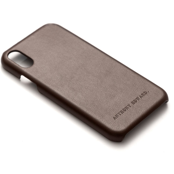 IPHONE XS MAX BROWN CASE (2022578421809)
