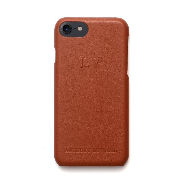 IPHONE X/XS COGNAC CASE