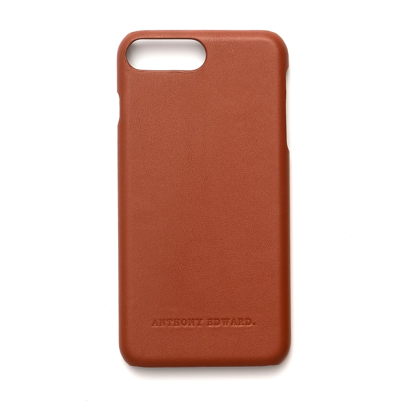 IPHONE 7/8 PLUS COGNAC CASE