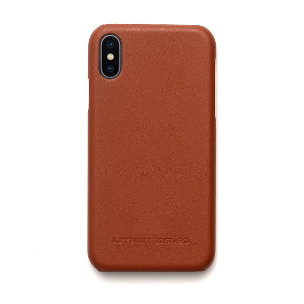 IPHONE X/XS COGNAC CASE (2022573178929)
