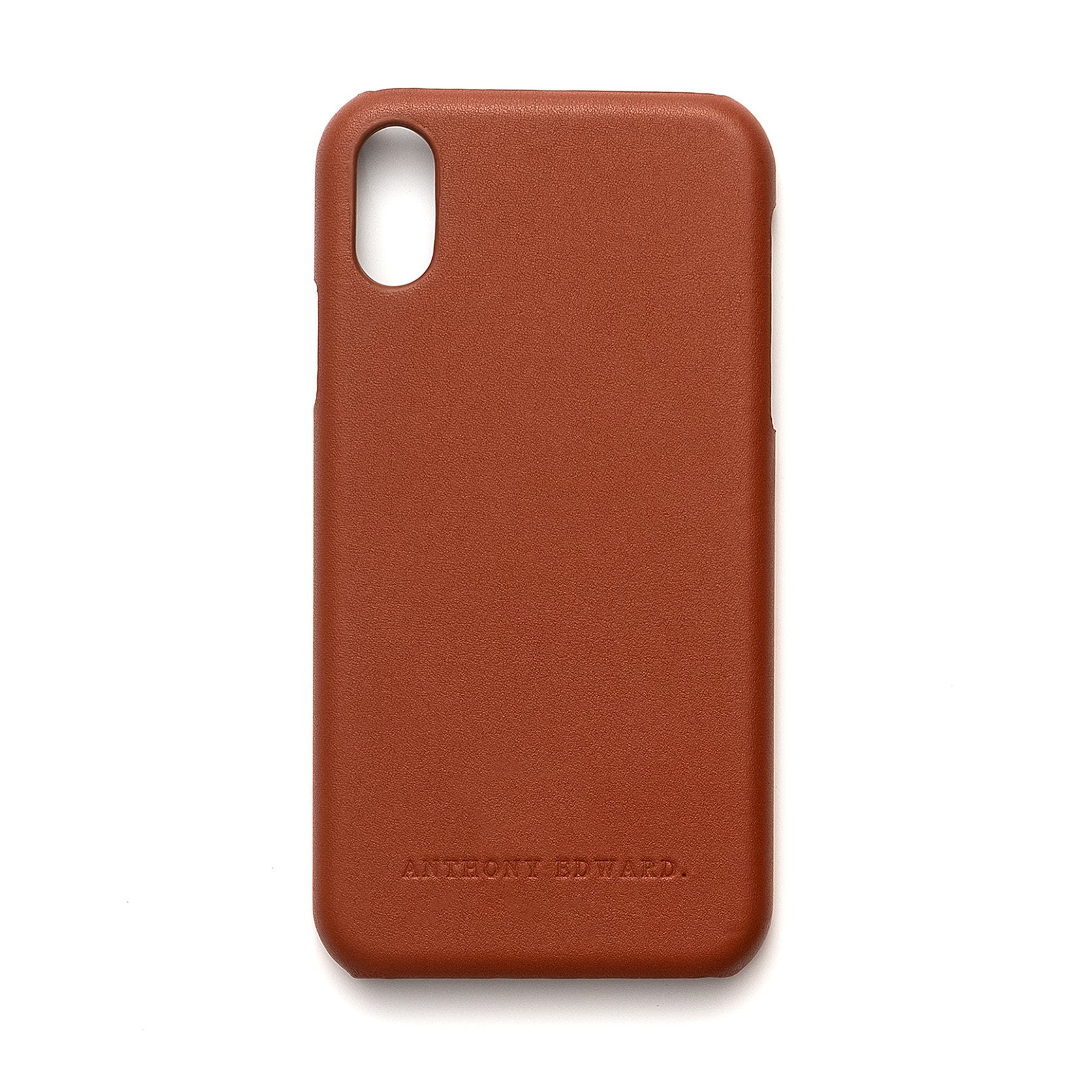 IPHONE XS MAX COGNAC CASE (2022577340465)