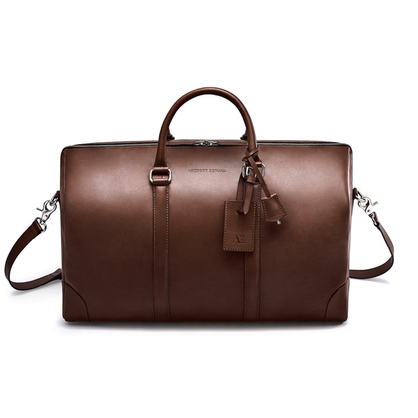 CLASSY DUFFLE  BROWN CORAL PINK