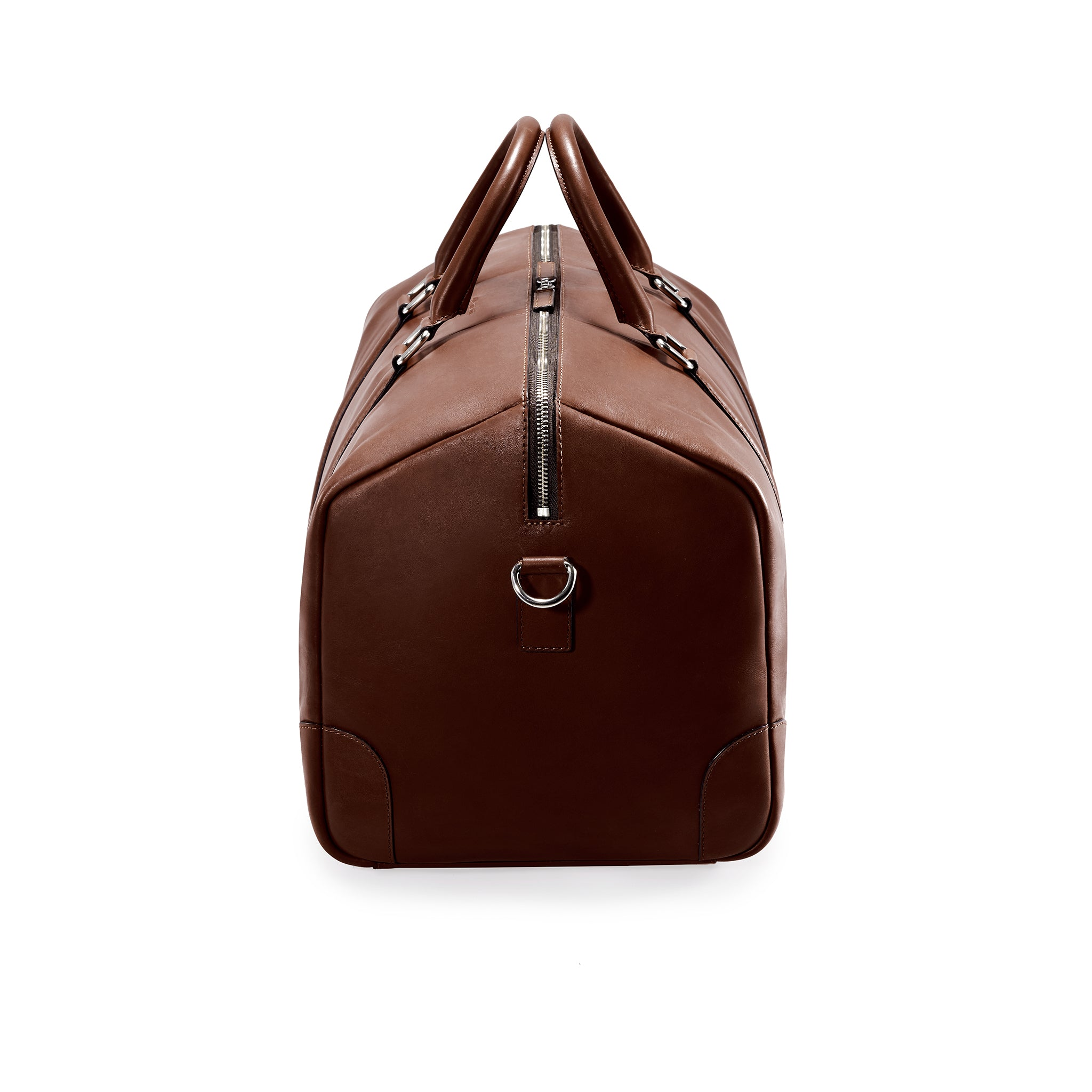 CLASSY DUFFLE  BROWN NATURAL BEIGE
