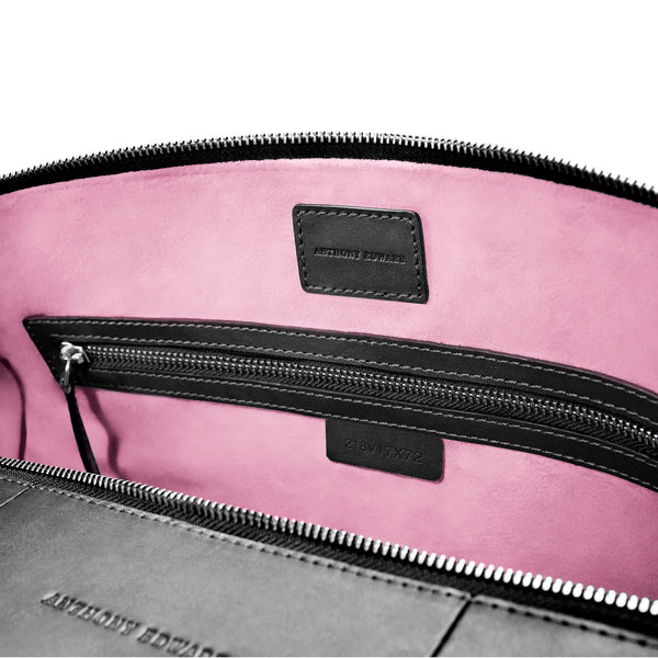 CLASSY DUFFLE  BLACK CORAL PINK