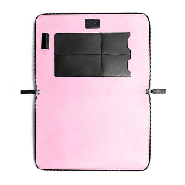 "LAPTOP PORTFOLIO 13"" BLACK CORAL PINK"