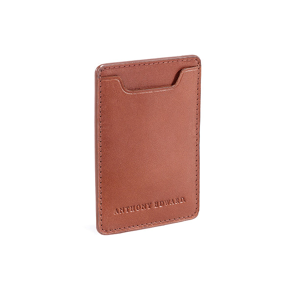 CARD CASE COGNAC