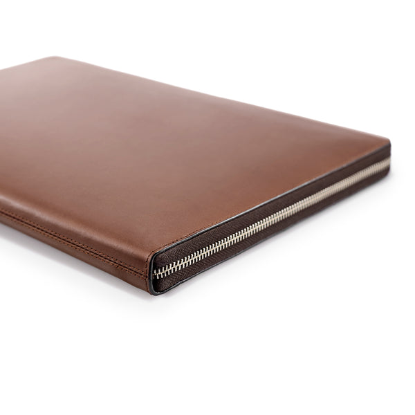 "LAPTOP PORTFOLIO 15"" BROWN CRYSTAL BLUE"