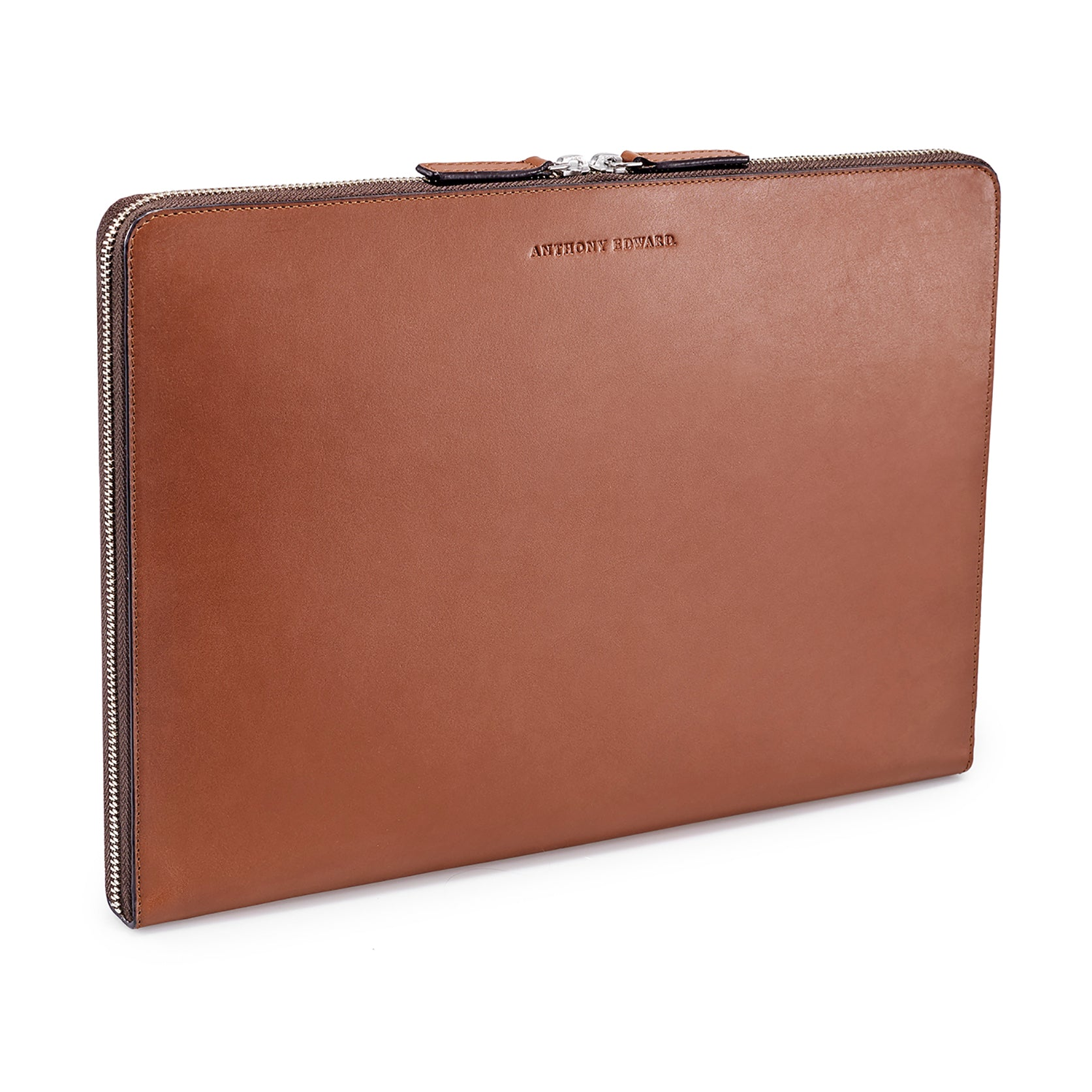 "LAPTOP PORTFOLIO 15"" COGNAC CRYSTAL BLUE (1920156041265)"