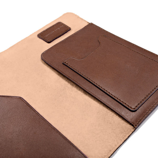 PASSPORT CASE BROWN NATURAL BEIGE (497305092145)