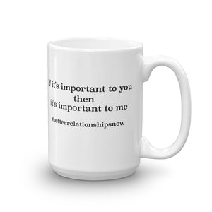 Mug made in the USA -- If its important to you