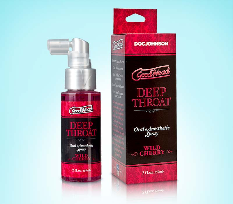 GoodHead 60ml - spray sex oral adanc, aroma de cirese