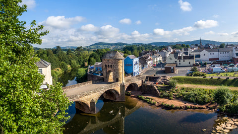 Monnow Bridge,  Monmouth,  Canvas Print
