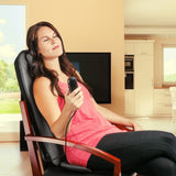 Heated Shiatsu Massage Cushion - Wagan HealthMate - Relax