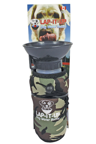 Lap-It-Up Dog Water Bottle - Camouflage