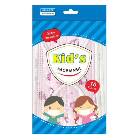 Children's Disposable 3-Ply Masks