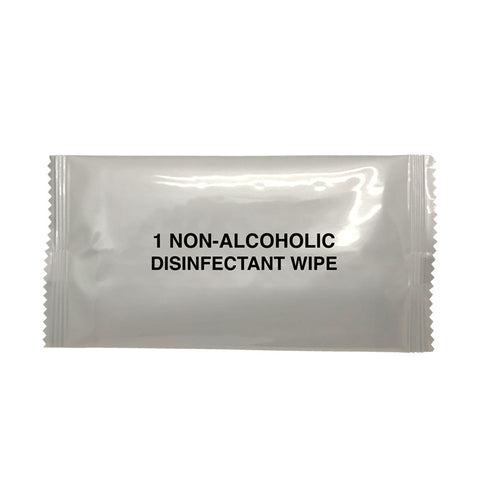 Non-Alcoholic Single Wipe