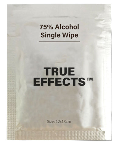 75% Alcohol Single Wipe
