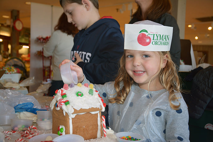 Gingerbread House Decorating Workshops