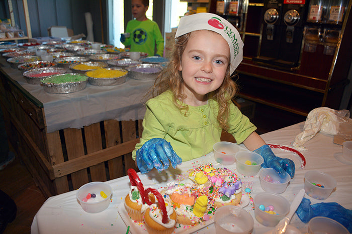 Easter Cupcake Basket & Cookie Workshop