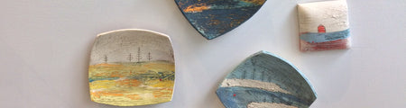 Landscape Wall Plates