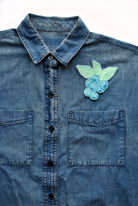 Fruit Iron-On Patches