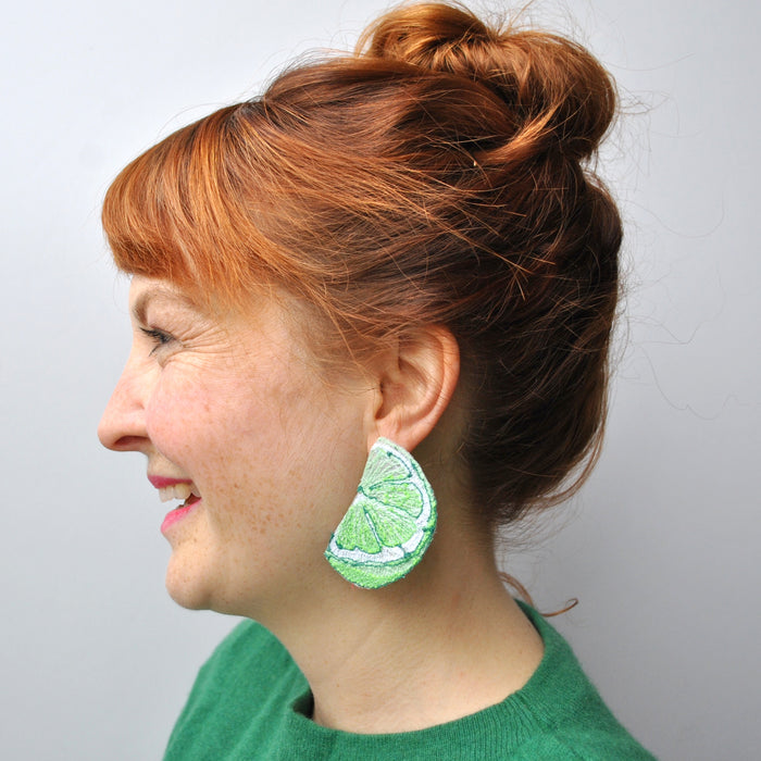 Citrus Fruit Earrings