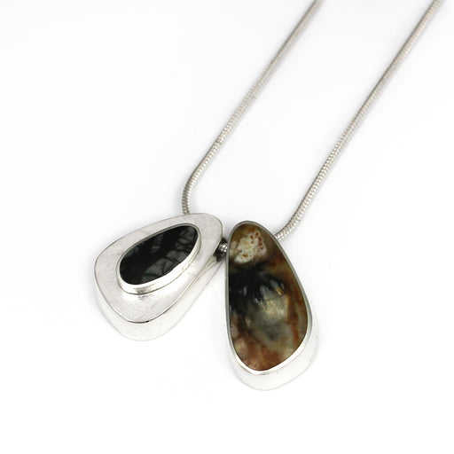 Two Piece Jasper Necklace