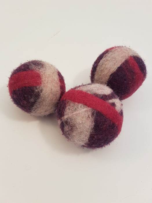 Wool Dryer Balls by Amber Pollett