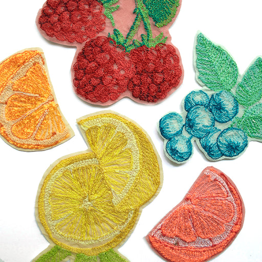Fruit Iron On Patches