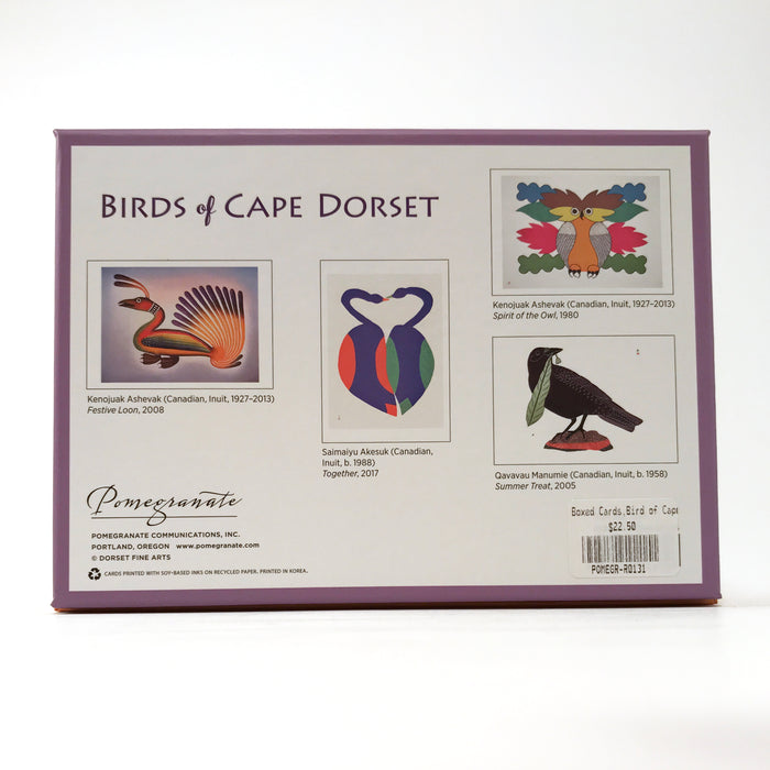 Birds of Cape Dorset Note Card Assortment