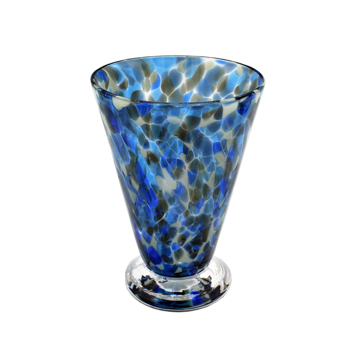Neutral Speckled Fluted Cup