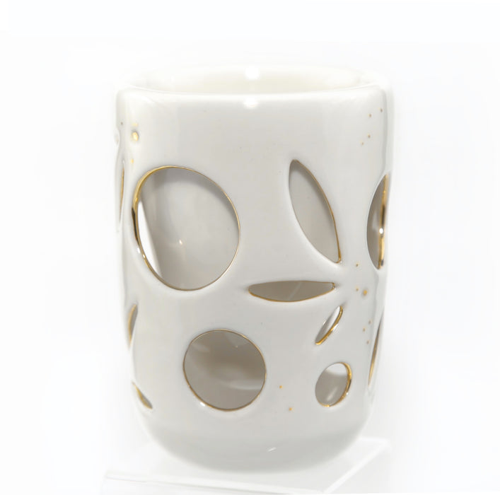 Gold & Cream Double Wall Espresso Mug - 2oz./ 8oz.