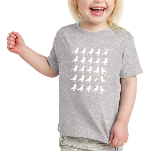 Seagulls Heart Hotdogs T-Shirt, Toddler