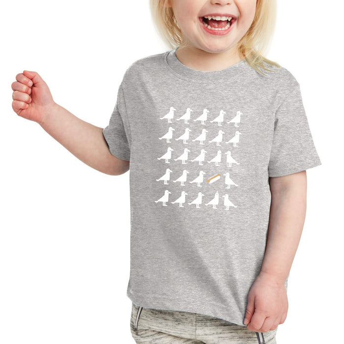 Seagulls Heart Hotdogs T-shirt, Child/Youth