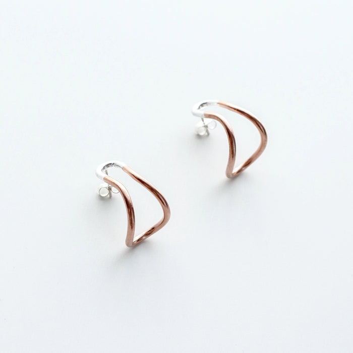 Liminal Earrings I by Kotoba Jewellery