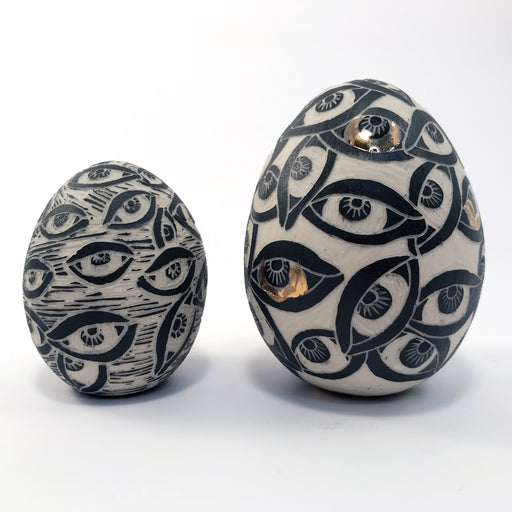 Sgraffito Eggs
