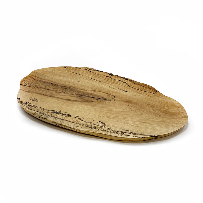 Large Spalted Maple Wood Tray