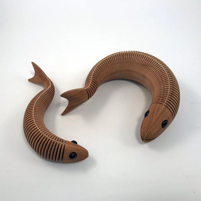 Flexible Wooden Fish
