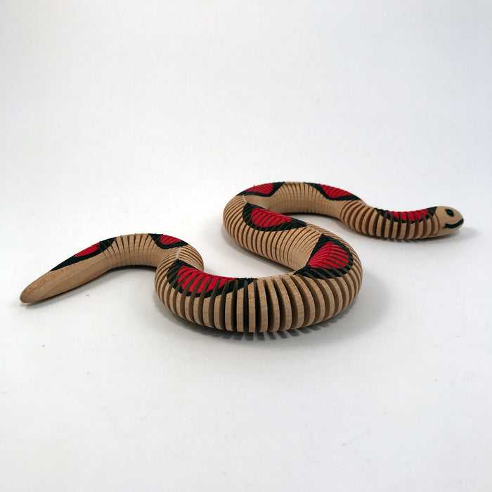 Flexible Wooden Snake