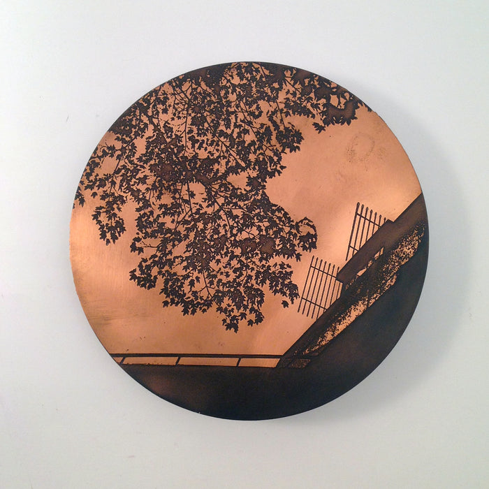 Etched Copper Wall Hanging