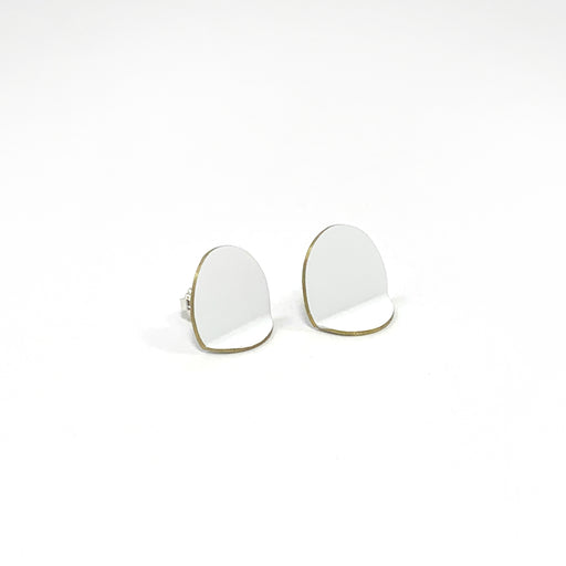 Oval Fold Earrings