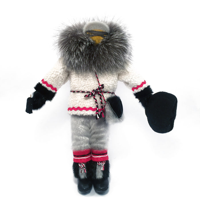Sealskin Inuit Doll